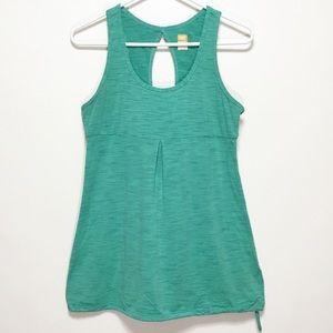 Lucy Tech Green Activewear Tank Top
